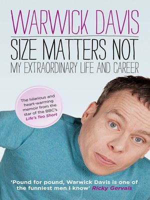 cover image of Size Matters Not